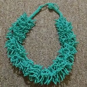 Accessories - Turquoise beaded necklace